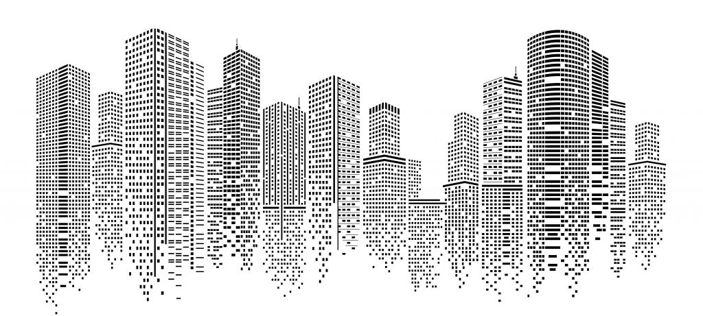 Pixelated Cityview