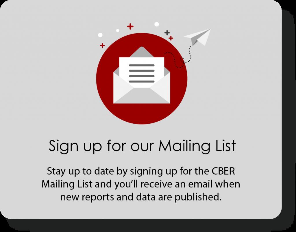 CBER Mailing List Signup Image