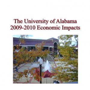 The University of Alabama 2009-2010 Economic Impacts