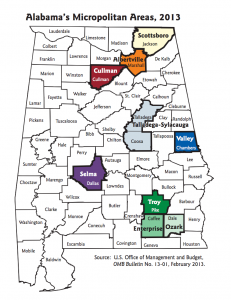 Alabama Micropolitan Areas