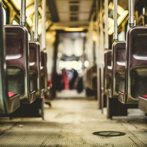 Metro bus seats