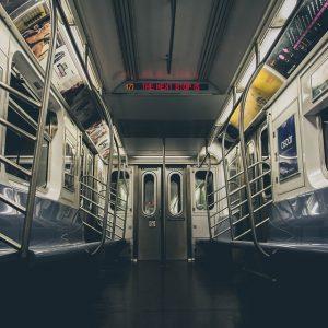 Inside of metro