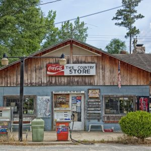 rural store front