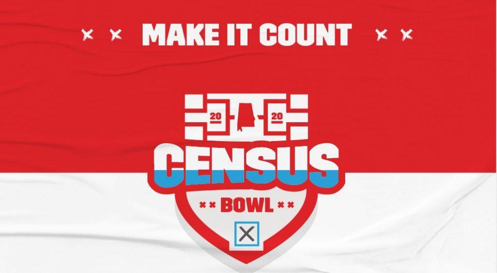 Alabama Census Bowl Graphic