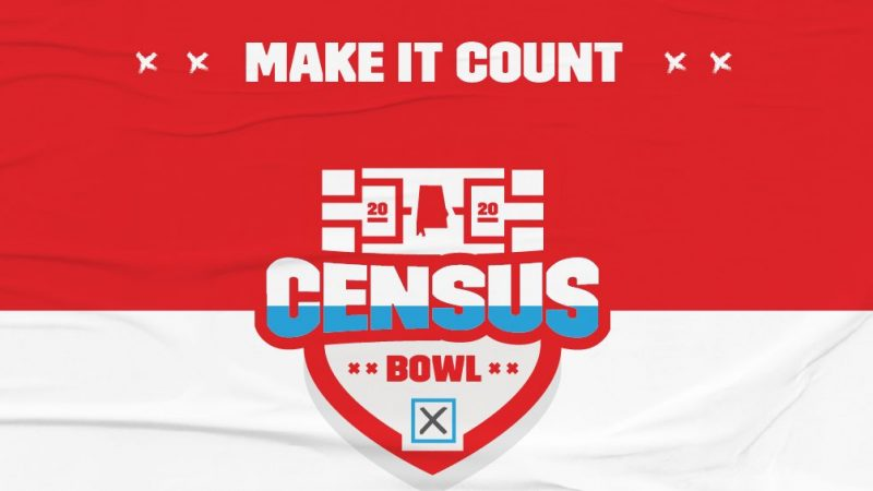 Alabama Census Bowl Graphic